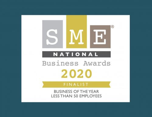 Finalists in the SME National Business of the Year!
