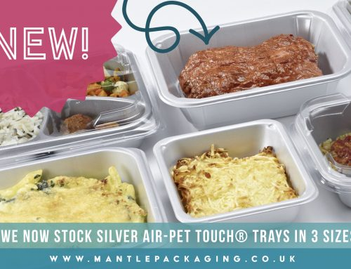 Silver airPET TOUCH Trays now in stock!