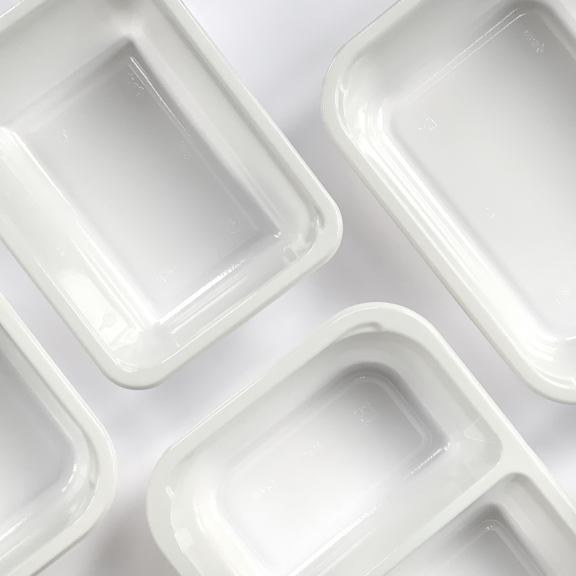 Opaque Ready Meal Trays