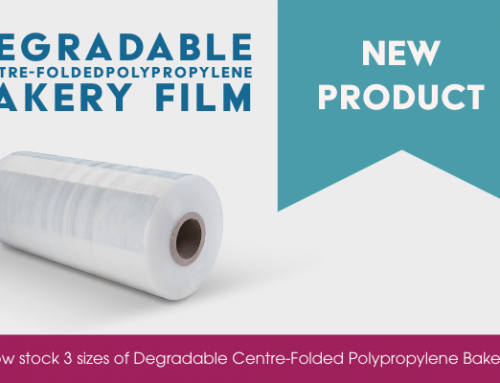 We now stock Degradable Centre-Folded Bakery Film